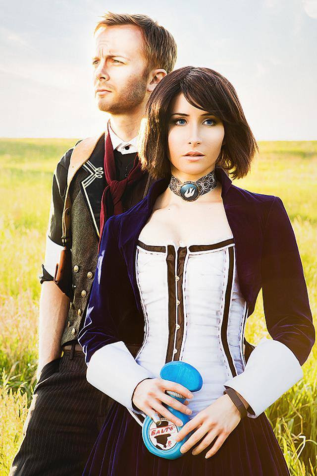 Bioshock Infinite Elizabeth Cosplay - Bindi Smalls