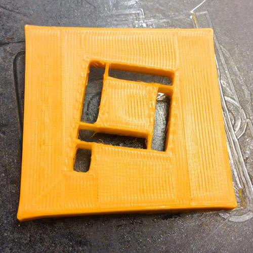 Printer Playground Logo 3D Printed by Printspace3D