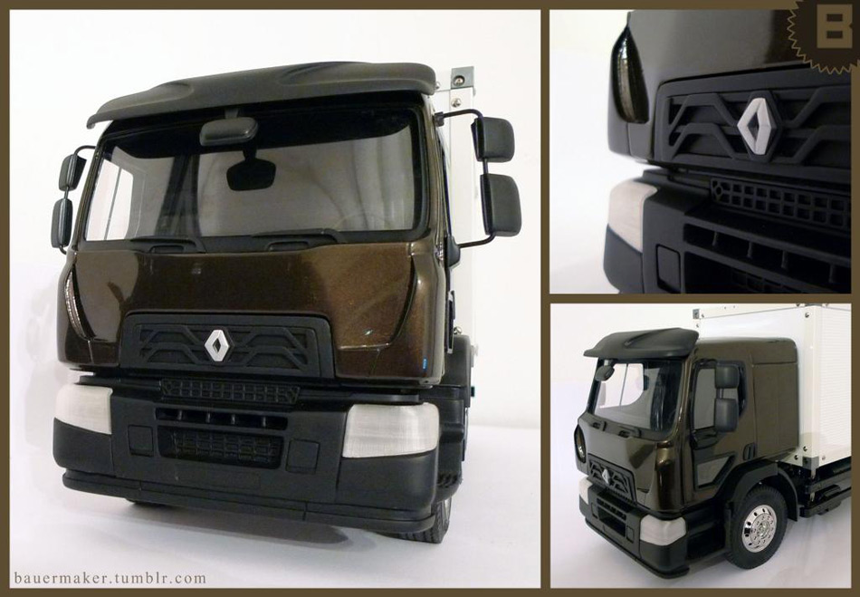 Replica Truck Created by Bauermaker