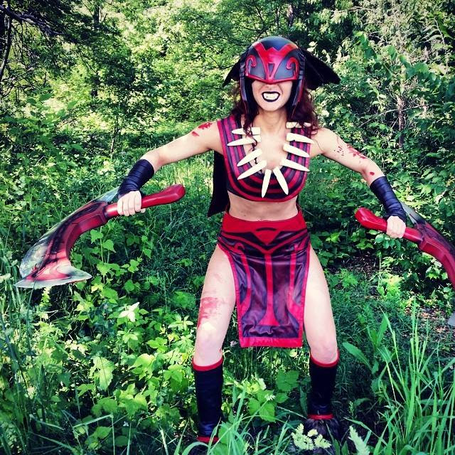 Bloodseeker Dota 2 Cosplay - Bindi Smalls