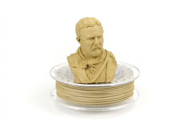 ColorFabb bambooFill when printed