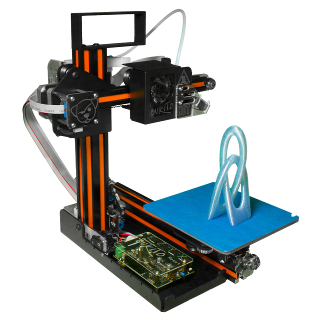 Deezmaker Bukito Mini 3D Printer Close Up
