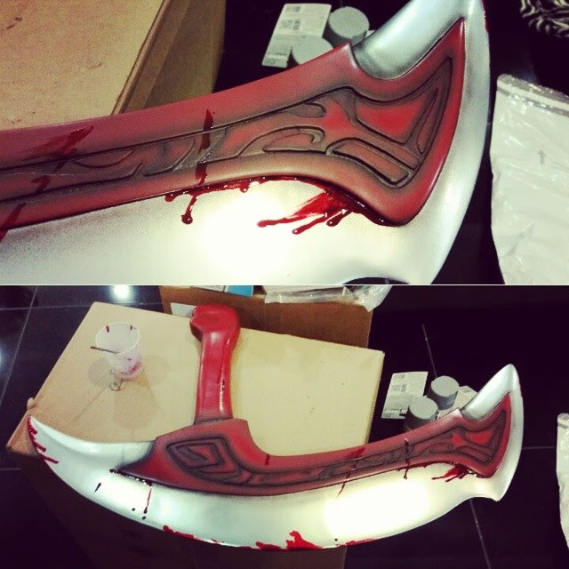 DOTA 2 Cosplay Sword (3d printed)