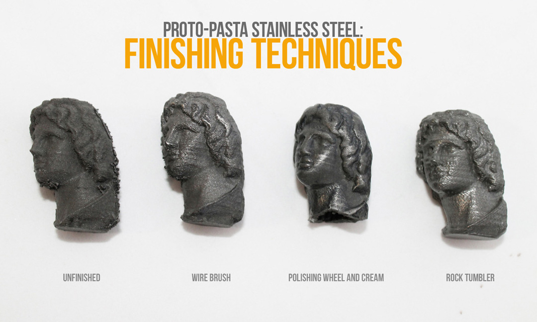 Proto Pasta Stainless Steel Filament | Finishing Techniques