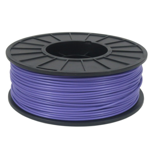 Purple ABS Filament Spool