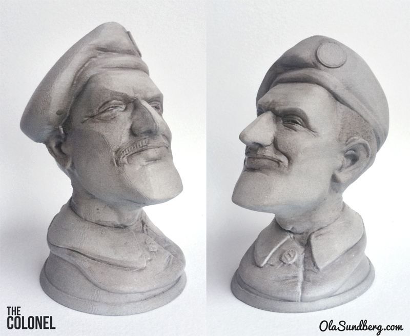 The Colonel 3D Print